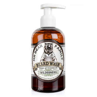 Mr Bear Family Beard Wash Wilderness Szampon do brody 250 ml