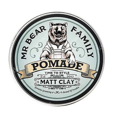 Mr Bear Family Pomada Matt Clay Pomada wodna 100 ml