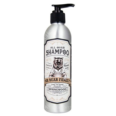 Mr Bear Family Springwood Shampoo Szampon do włosów 250 ml