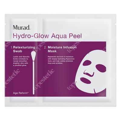 Murad Hydro Glow Aqua Peel Nawilżająca maska w płachcie 4 szt