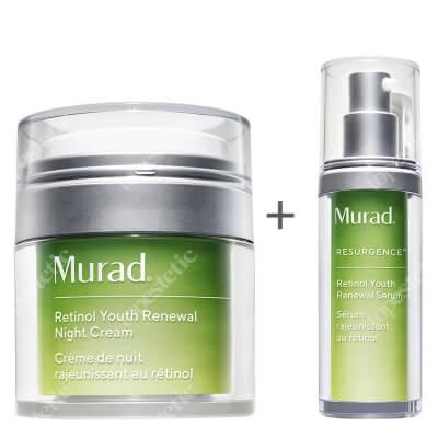 Murad Retinol Youth Renewal Night Set ZESTAW Serum 30 ml + Krem na noc 50 ml