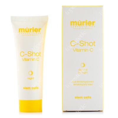 Murier C Shot Vitamin C by Night Krem rewitalizujący z wit. C i olejami roślinnymi na noc 50 ml