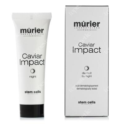 Murier Caviar Impact by Night Krem z kawiorem bogaty w oligoelementy i wit. E na noc 50 ml