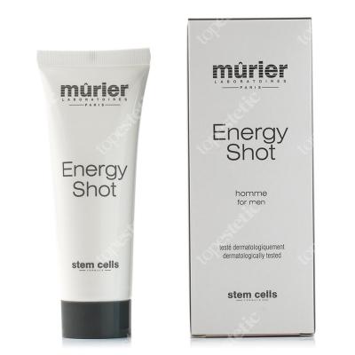 Murier Energy Shot Delikatny, rozświetlający krem dla mężczyzn z kwasem hialuronowym dzień/noc 50 ml