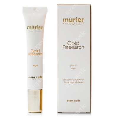 Murier Gold Research Eye Ultra delikatny krem ze złotem koloidalnym i kwasem hialuronowym pod oczy 20 ml