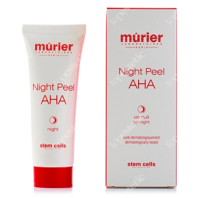 Murier Night Peel AHA by Night Regenerujący krem z alfa-hydroksykwasami(20%) na noc 50 ml