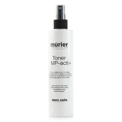 Murier Toner MP-acti+ Tonik odświeżająco-rewitalizujący z panthenolem i kwasem hialuronowym 250 ml