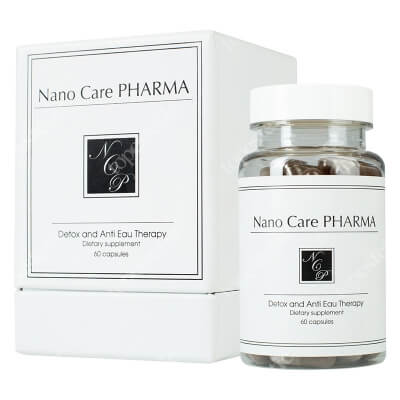 Nano Care Pharma Detox and Anti Eau Therapy Detoks i terapia antycellulitowa 60 kaps.