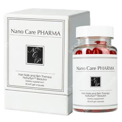 Nano Care Pharma Hair Nails and Skin Therapy Terapia Włosy, Skóra, Paznokcie 60 kaps.