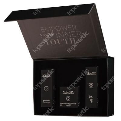 Neauvia Rebalancing Box ZESTAW Krem pod oczy z ekstraktem z planktonu 30 ml + Krem pielęgnacyjny 50 ml + Kompleks Retinowy 30