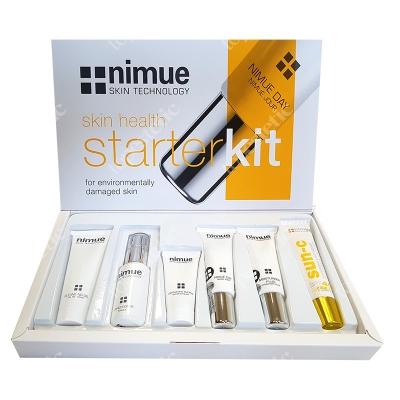 Nimue Environmentally Starter Kit ZESTAW Żel 30 ml + Odżywka 30 ml + Enzym 15 ml + Krem na dzień 15 ml + Krem na noc 15 ml + Krem 20 ml