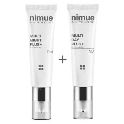 Nimue Multi Day And Night Set ZESTAW Krem odmładzający do skóry dojrzałej na noc w tubie 50 ml + Krem odmładzający do skóry dojrzałej na dzień w tubie 50 ml