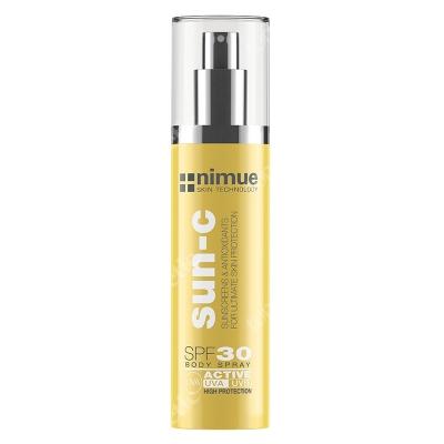 Nimue Sun C Body Spray Active SPF 30 Spray do ciała z ochroną przeciwsłoneczną 150 ml