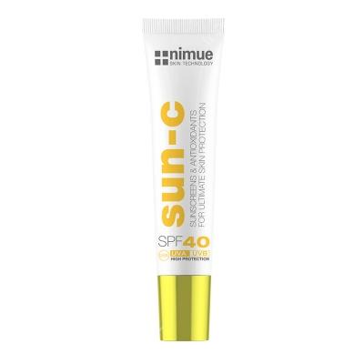 Nimue Sun C Sunscreen SPF 40 Krem przeciwsłoneczny 20 ml