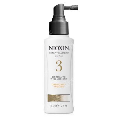 Nioxin Scalp Treatment System 3 Kuracja regenerująca przeciw wypadaniu (włosy cienkie, przerzedzone, zniszczone) 100 ml