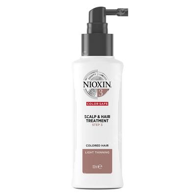 Nioxin Scalp Treatment System 3 Kuracja regenerująca przeciw wypadaniu (włosy farbowane, cienkie, lekko przerzedzone) 100 ml