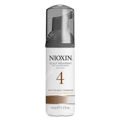 Nioxin Scalp Treatment System 4 Kuracja regenerująca przeciw wypadaniu (włosy cienkie, znacznie przerzedzone, zniszczone) 100 ml