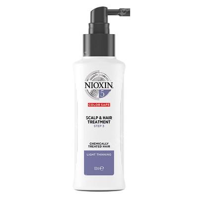 Nioxin Scalp Treatment System 5 Kuracja regenerująca przeciw wypadaniu (włosy po zabiegach chemicznych, grube, lekko przerzedzone) 100 ml