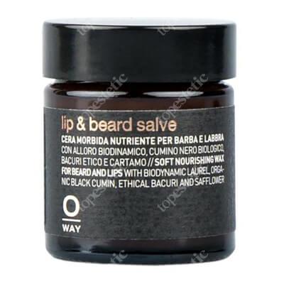 O Way Lip & Beard Salve Odżywczy wosk do brody i ust 30 ml