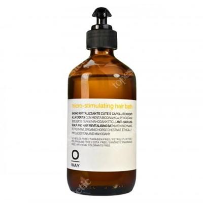 O Way Micro-Stimulating Hair Bath Szampon do włosów ze skłonnością do wypadania 240 ml