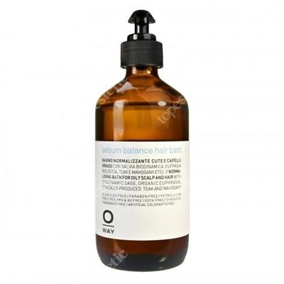 O Way Sebum Balance Hair Bath Szampon do włosów przetłuszczających się 240 ml
