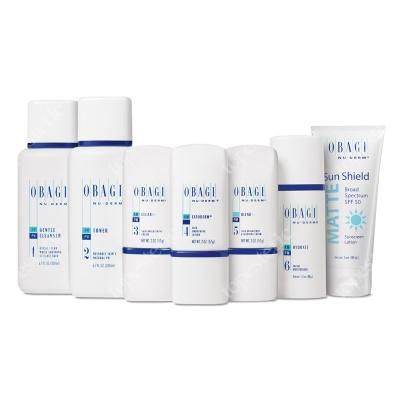 Obagi Nu-Derm Fx Normal/Dry System ZESTAW dla skóry normalnej w kierunku suchej - 200 ml, 200 ml, 57 ml, 57 ml, 57 ml, 48 ml, 85 g