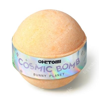 Oh Tomi Bunny Planet Musująca kula do kąpieli - pomarańcza i wanilia 130 g