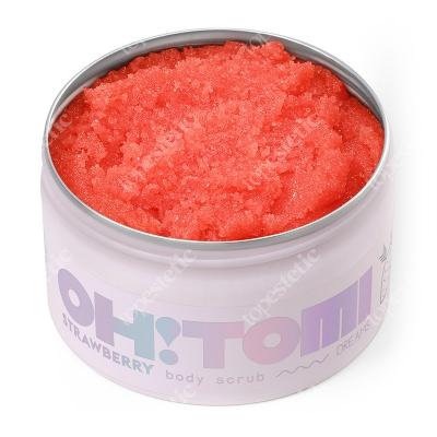 Oh Tomi Strawberry Sugar Body Scrub Peeling do ciała - zapach Truskawka 250 g