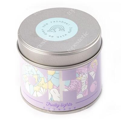 Oh Tomi Rainbow Candle Świeca zapachowa tęcza 185 g