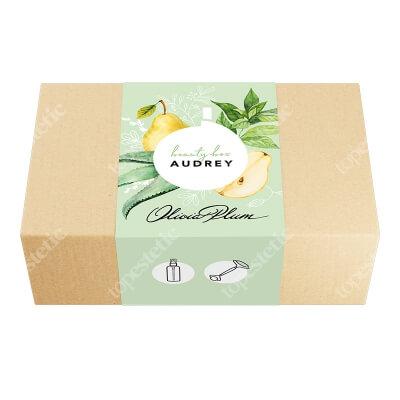 Olivia Plum Audrey Beauty Box ZESTAW Esencja tonizująca 50 ml + Roller z jadeitu 1 szt.