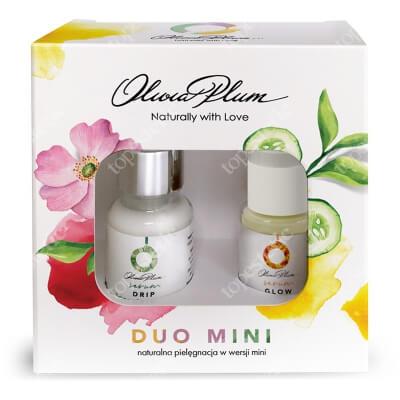 Olivia Plum Duo Mini Drip And Glow ZESTAW Serum nawilżające 10 ml + Serum rozjaśniające 15 ml