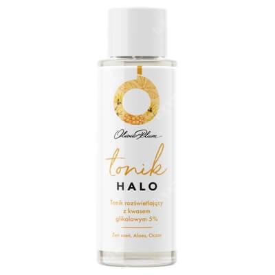 Olivia Plum Halo Tonik Rozjaśniający z Kwasem Glikolowym 5% 100 ml