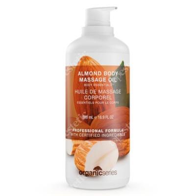 Organic Series Almond Massage Body Oil Olejek do ciała migdałowy 500 ml