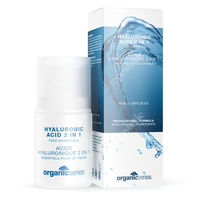 Organic Series Hyaluronic Acid 2 in 1 Kwas hialuronowy 2w1 50 ml