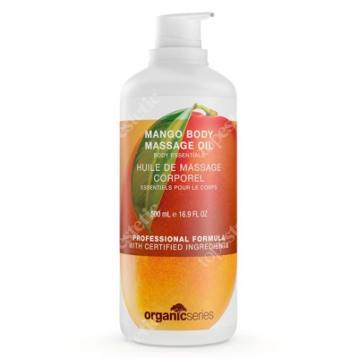 Organic Series Mango Body Massage Oil Olejek do ciała mango 500 ml