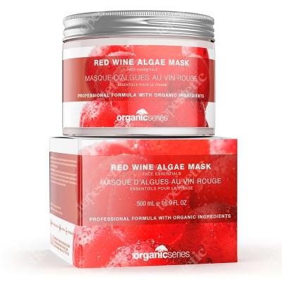 Organic Series Red Wine Algae Mask Maska algowa czerwone wino 200 ml