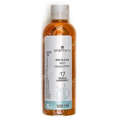 Orientana Anti Cellulite Bio Oil Bio olejek antycellulitowy - 17 roślin ajurwedy 100 ml