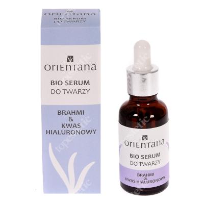 Orientana Bio Serum Bio Serum do twarzy - Brahmi i kwas hialuronowy 30 ml