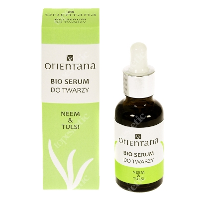 Orientana Bio Serum Bio serum do twarzy - Neem i tulsi 30 ml