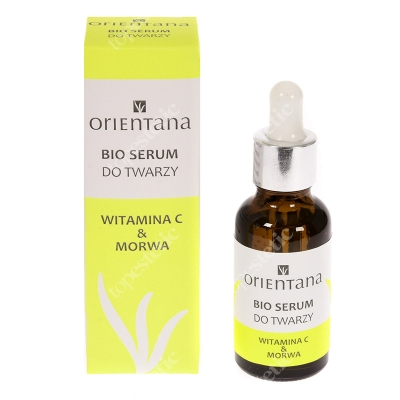 Orientana Bio Serum Bio serum do twarzy - Witamina C i morwa 30 ml