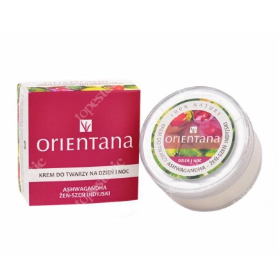 Orientana Day and Night Face Cream Krem do twarzy na dzień i noc - Żeń szeń indyjski 40 g