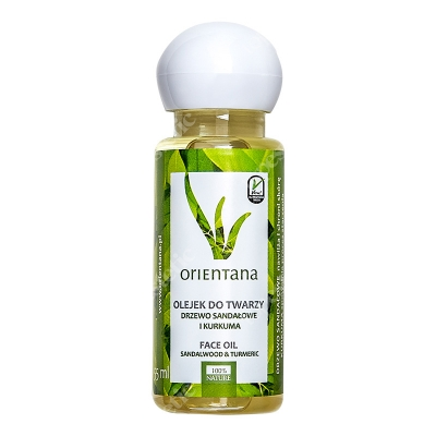 Orientana Face Oil Olejek do twarzy - Drzewo sandałowe i kurkuma 55 ml
