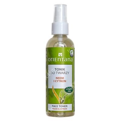 Orientana Face Toner Naturalny tonik do twarzy - Neem i Cytron 100 ml
