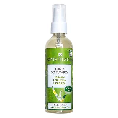 Orientana Face Toner Tonik do twarzy - Jaśmin i zielona herbata 100 ml