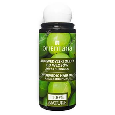 Orientana Hair Oil Ajurwedyjski olejek do włosów - Amla i bhringraj 105 ml