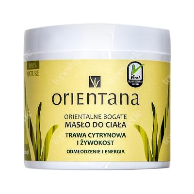 Orientana Natural Body Butter Naturalne masło do ciała - Trawa cytrynowa i żywokost 100 g