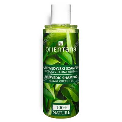 Orientana Natural Hair Shampoo Ajurwedyjski szampon do włosów - Miodla i zielona herbata 210 ml