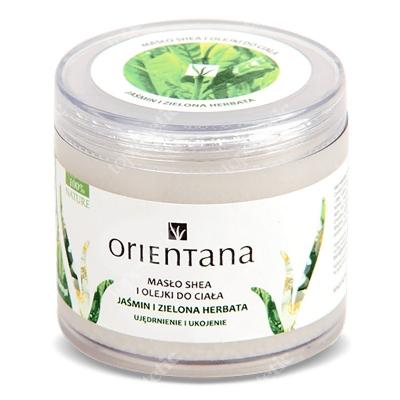Orientana Natural Shea Butter Naturalne masło Shea i olejki - Jaśmin i zielona herbata 100 g