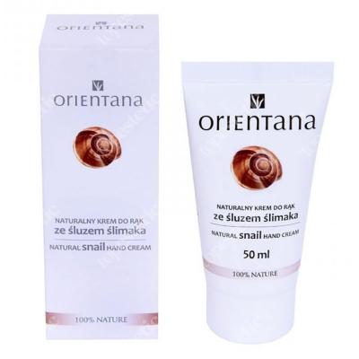 Orientana Natural Snail Hand Cream Naturalny krem do rąk ze śluzem ślimaka 50 ml