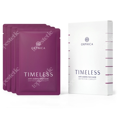 Orphica Timeless Anti-Ageing Face Mask Maska na twarz 4 szt. (1 op.)